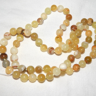 80cm string of Vintage Agate Beads
