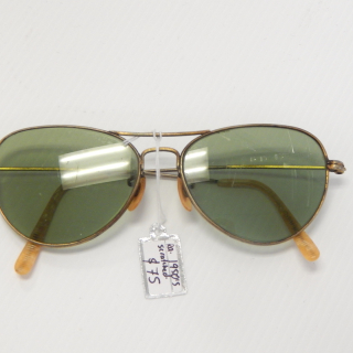 Ladies 1950's Metal frames Sun Glasses