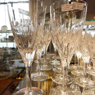 8 Stuart Crystal Crystal Champagne or Wine glasses