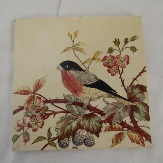 Hand painted Antique TILE