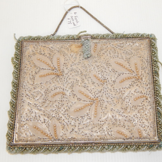 Vintage fragile FRENCH Beaded purse