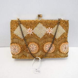Heavily Beaded Vintage purse