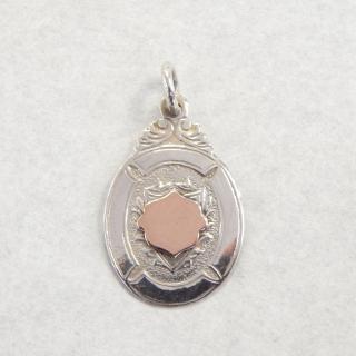 Antique Silver Fob Medal