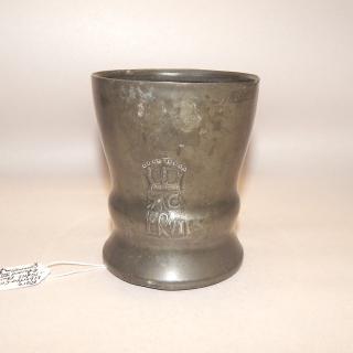 Rare Liberty and Co Pewter Edward 7 Coronation Tankard