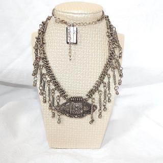 1970's BoHo Metal necklace