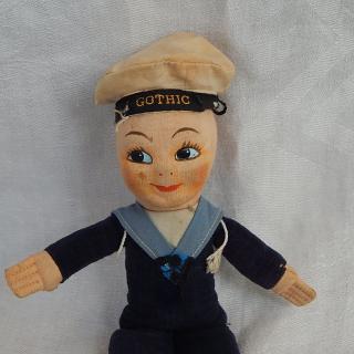 Cute Sailor Doll GOTHIC