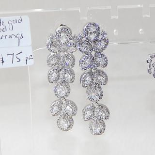 Crystal set NEW Drop Earrings