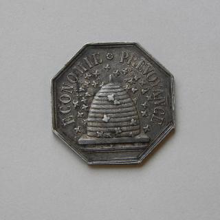 1835 Silver Token