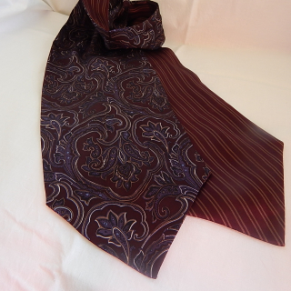 Striped and Paisley Cravat