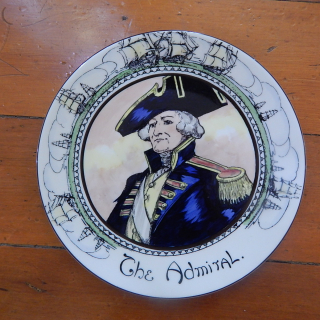 Royal Doulton THE ADMIRAL plate