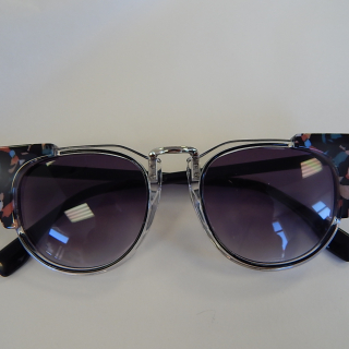 Retro multi colour sunglasses