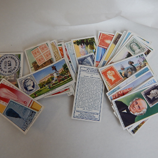 Set of Cigarette cards.