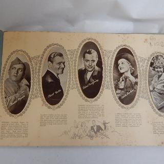 The Film Star cigarette cards and album circa 1934