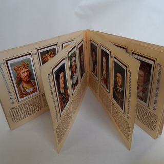 The Kings and Queens of England Cigarette Cards