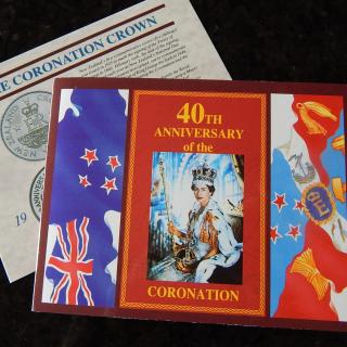 1993 40th Anniversary Coronation Coin
