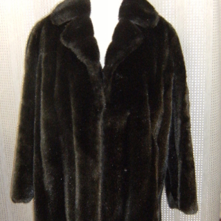 Faux Fur NZ made vintage Jacket