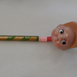 Celluloid Pencil Head