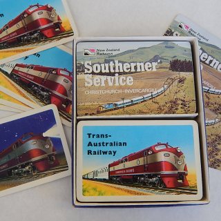 NZ and Australian  Railways playing cards