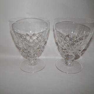 4 Stuart Crystal Large Glasses