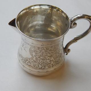 1906 Sterling Silver  Cream jug