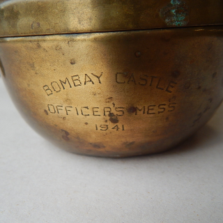 1941 OFFICERS MESS ( NZ Auckland ) Ashtray