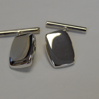 New Sterling Silver Cuff Links