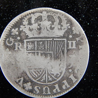 1724 Spainish Coin