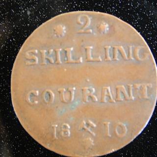 1810 , 2 Skilling  Danish Coin
