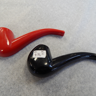 Funky plastic 'pipe' bottle & can openers