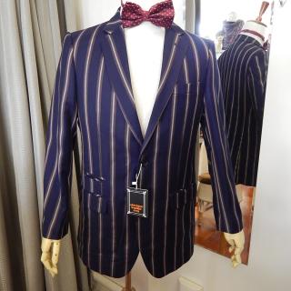 Gents Art Deco Striped Blazer