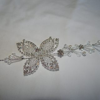 Crystal and Diamante Hair decoration
