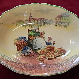 Royal Doulton FLOWER SELLER bowl