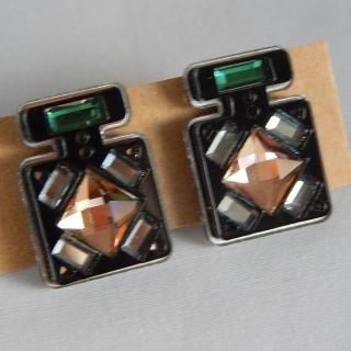 Perspex Deco Earrings