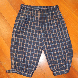 NEW Plus Four Trousers Large NAVY Blue