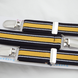 Black, Yellow, White Gents Braces