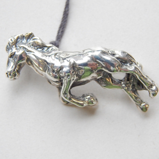 Sterling Silver HORSE Brooch