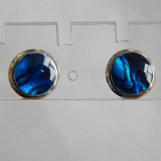 8mm Paua shell studs