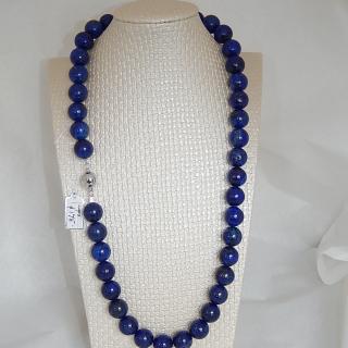 Lapis Lazuli bead Necklace 63cm
