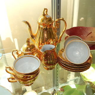 Bavarian Gold Coffee set