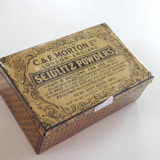 Antique  MORTON Tin