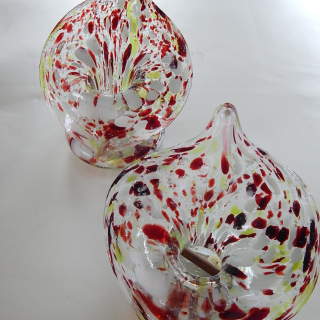 Pair of End of Day VASES