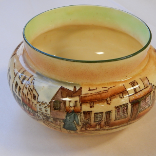 Royal Doulton Dickens Ware bowl