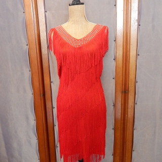 Art Deco Tassle Dress