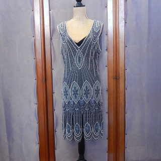 sterling Art deco flapper Dress