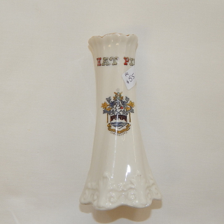 Crested China HAT PIN holder