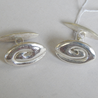 Sterling Silver NZ Cuff Links