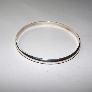 New Sterling Silver Bangle