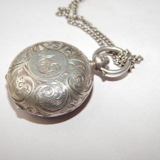 Sterling Silver Sovereign Case