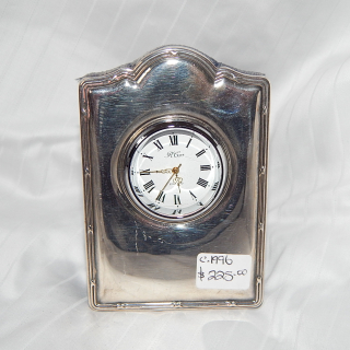 1996 Sterling Silver front small clock
