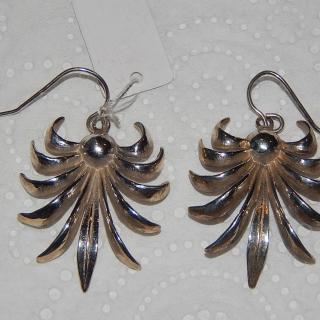 NZ Made Silver Earrings